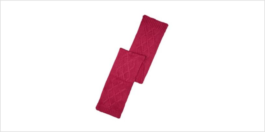 raspberry colourblock scarf from Mothercare