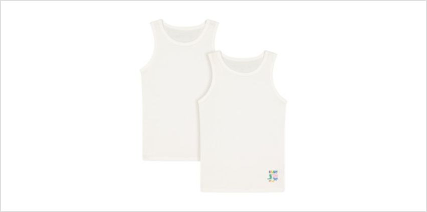 george pig vests - 2 pack from Mothercare