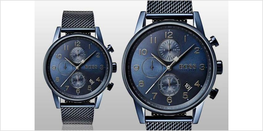 £139 instead of £329 (from The Watch Cabin) for a Hugo Boss 1513538 men's watch - save 58% from Wowcher