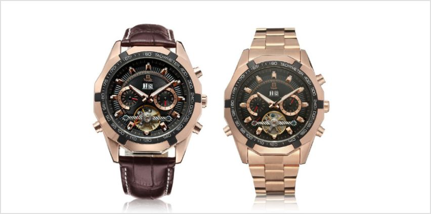 £59 instead of £119 (from Vault Time) for a Vault men's watch - choose from two designs and save up to 50% from Wowcher