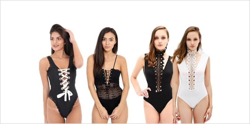 £5.99 instead of £29.99 for a women's bodysuit - choose from three styles and save 80% from Wowcher