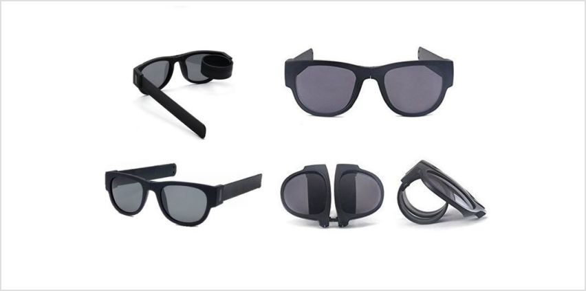 £4.99 instead of £14.99 for slap and fold unisex sunglasses from Forever Cosmetics - save 67% from Wowcher