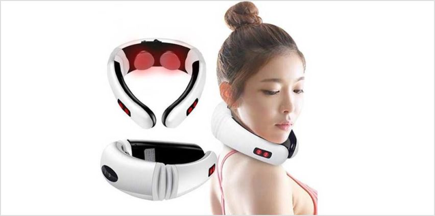 Relax in comfort with a neck massager! from Wowcher