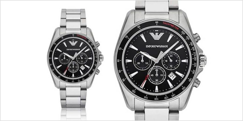 £109 instead of £386 (from Best Watch Company) for a men's Emporio Armani AR6098 chronograph watch - save 72% from Wowcher