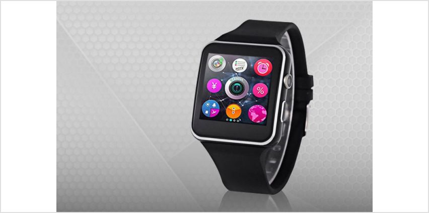 Start off on the right foot with a Fitstep A6 smart watch activity tracker! from Wowcher