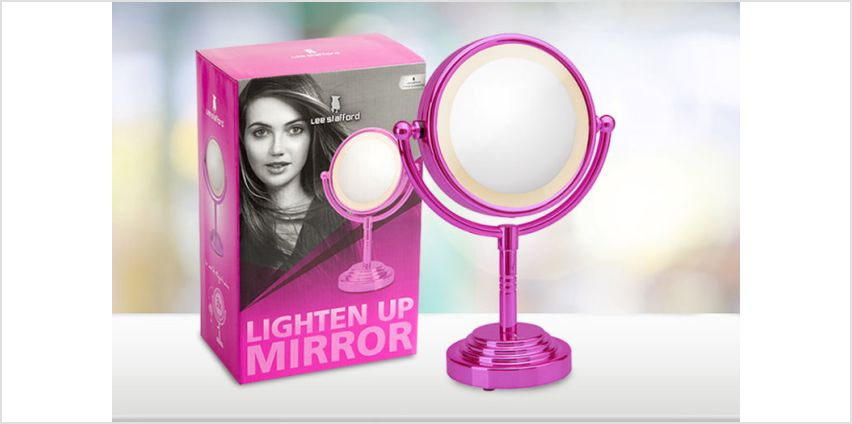 Always look your best with the help of a Lee Stafford light-up mirror! from Wowcher