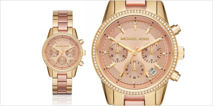 £99 instead of £249 (from Best Watch Company) for a Michael Kors two-tone Ritz ladies' watch - save 60% from Wowcher