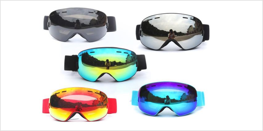 £19.99 instead of £49.99 (from Domo Secret) for a pair of unsex UV protected ski goggles - save 60% from Wowcher