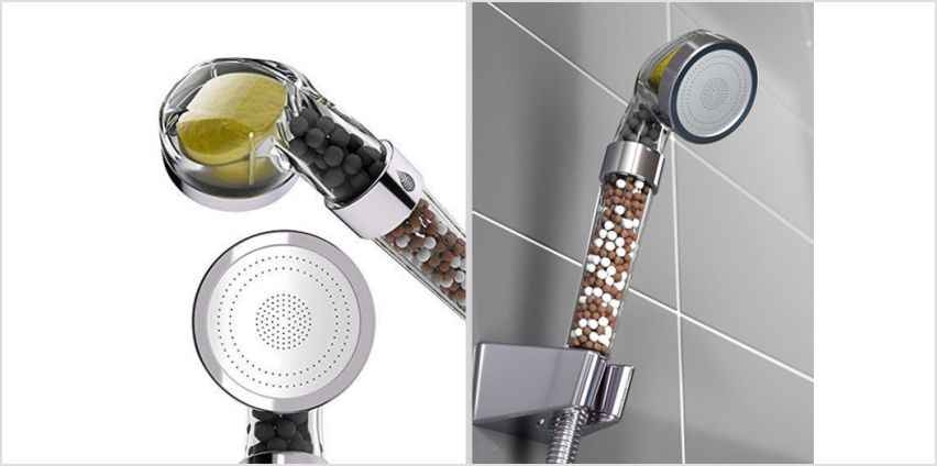 This high-pressure filtered shower head will make sure you're clean as a whistle after your morning shower! from Wowcher