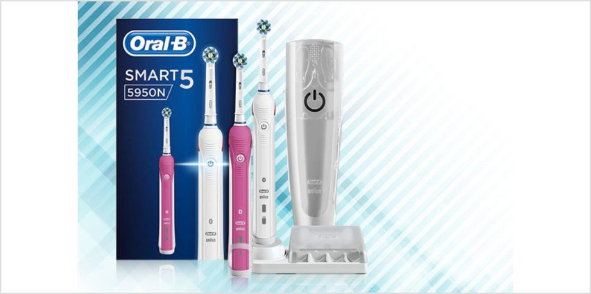 £79.99 instead of £254.99 (from Jynx Direct) for a pair of Oral-B electric toothbrushes - save 69% from Wowcher
