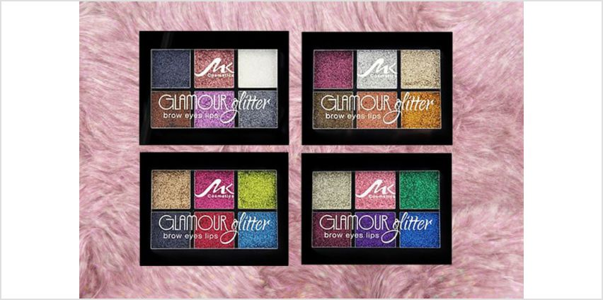 £5.99 instead of £12 (from Buy Something) for a glitter eyeshadow makeup palette - choose between four colours and save 50% from Wowcher
