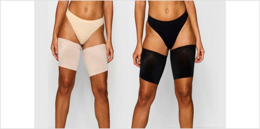 £4.99 instead of £19.99 (from Bellap) for a pair of anti-chafing thigh bands - choose from two colours and four sizes and save 75% from Wowcher