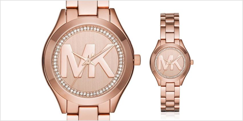 £99 instead of £226 (from Best Watch Company) for a Michael Kors Mini Slim Runway ladies watch - save 56% from Wowcher