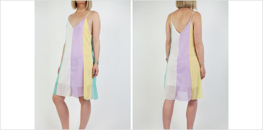 £8 (from Cascabelle) for a rainbow beach dress - save 50% from Wowcher