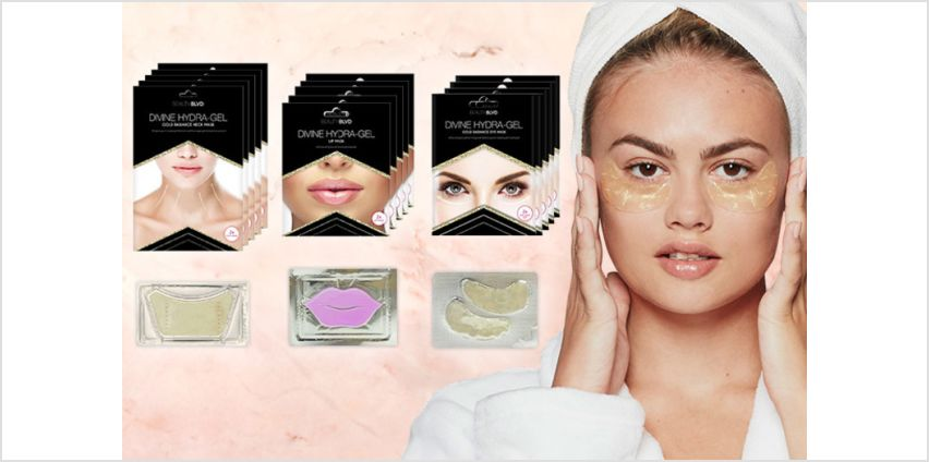 £22 instead of £152.50 (from Beauty BLVD) for a Hydra-gel lip, eye and neck mask bundle - save 86% from Wowcher
