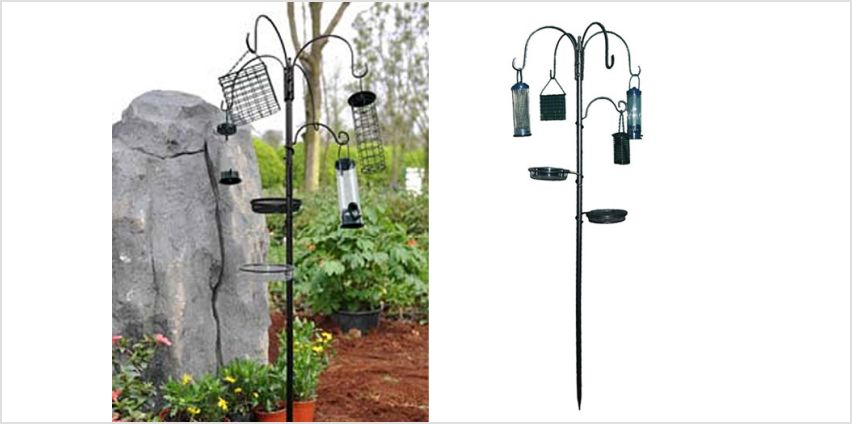 £10.99 instead of £44.99 for a bird feeding station & water bath from Direct2Public Ltd - save 76% from Wowcher