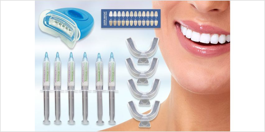 £13 instead of £19.99 (from Ivory Smiles) for a 30ml non-peroxide teeth whitening kit - save 35% from Wowcher