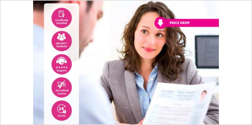 £10 instead of £99 for an online accredited job interview preparation course from International Open Academy - save 90% from Wowcher