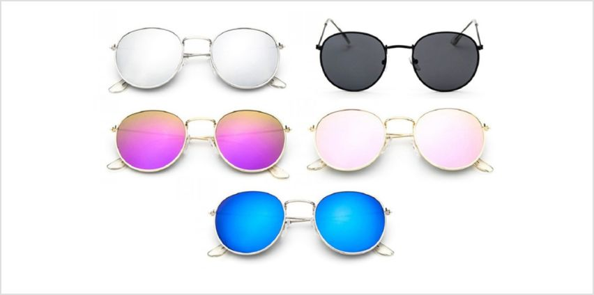 £3.99 instead of £29.99 (from Blufish) for a pair of round retro sunglasses – choose between nine designs and save 87% from Wowcher
