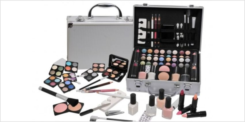 £14.99 instead of £32.99 for a 51-piece Urban Beauty darling vanity set from Ckent Ltd - save up to 55% from Wowcher