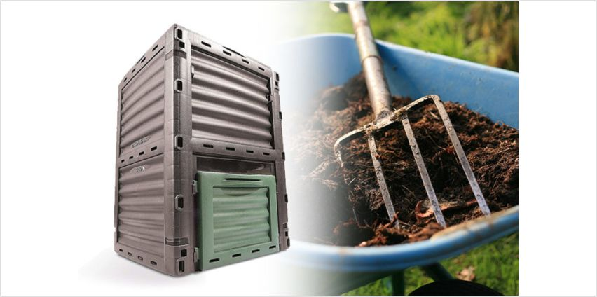 £26 instead of £79.99 (from Eurotrade Ltd) for a 300L garden composter – save 67% from Wowcher