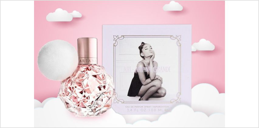 £30 instead of £41 (from Deals Direct) for a 100ml Ari by Ariana Grande EDP spray – save 27% from Wowcher