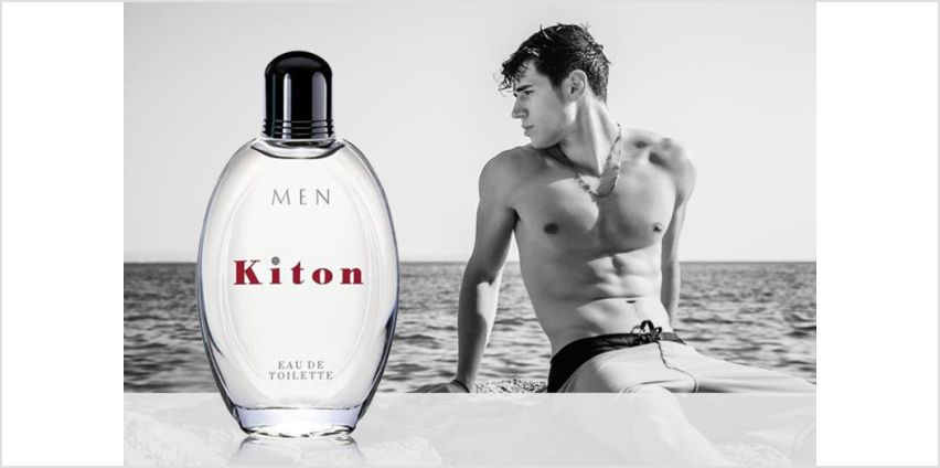 £24 instead of £45.96 for a 75ml bottle of Kiton men's eau de toilette (from Deals Direct) - save 48% from Wowcher