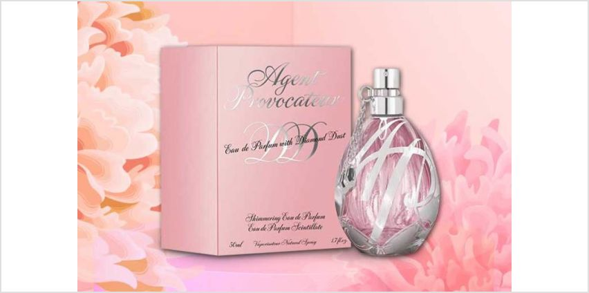 £19.99 instead of £87.01 (from Deals Direct) for an Agent Provocateur Diamond Dust 50ml eau de parfum –save 77% from Wowcher
