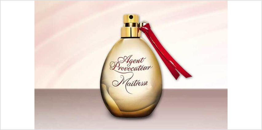 £9.99 instead of £19.89 for a 30ml Agent Provocateur Maitresse eau de parfum, or £12.99 for a 50ml bottle - save up to 50% from Wowcher