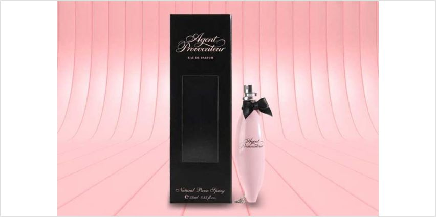 £10.99 instead of £12.88 (from Deals Direct) for an Agent Provocateur purse spray – save 15% from Wowcher