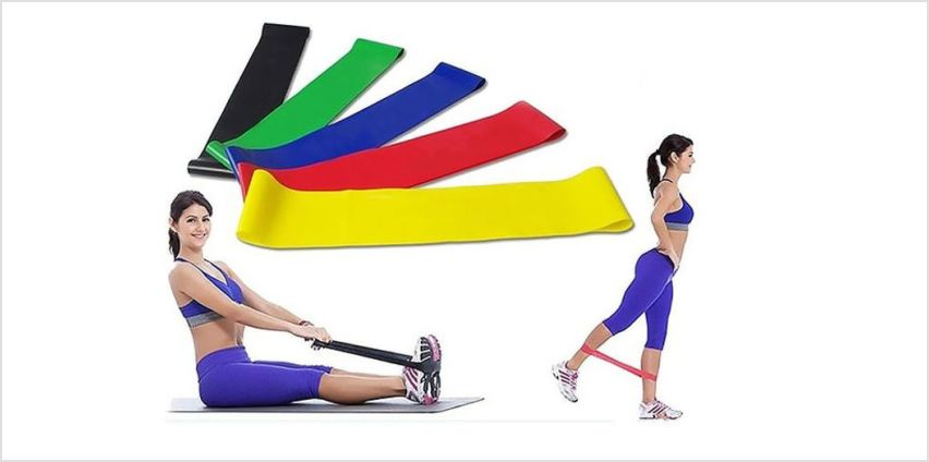 £6.99 instead of £19.99 (from DomoSecret) for a six-pack of resistance exercise bands - save 65% from Wowcher