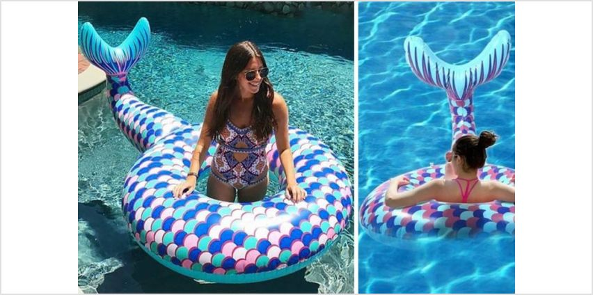 £5.99 instead of £34.99 (from Wow What Who) for a mermaid tail swim ring, or £11.99 for a - save up to 83% from Wowcher