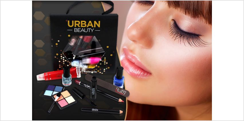 £4.99 instead of £29.99 for a 10-piece urban beauty lucky dip gift bag from Forever Cosmetics - save up to 83% from Wowcher