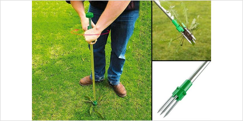 £9.99 instead of £43.30 for a weed removal twist garden tool from Who Needs Shops Ltd - save 77% from Wowcher