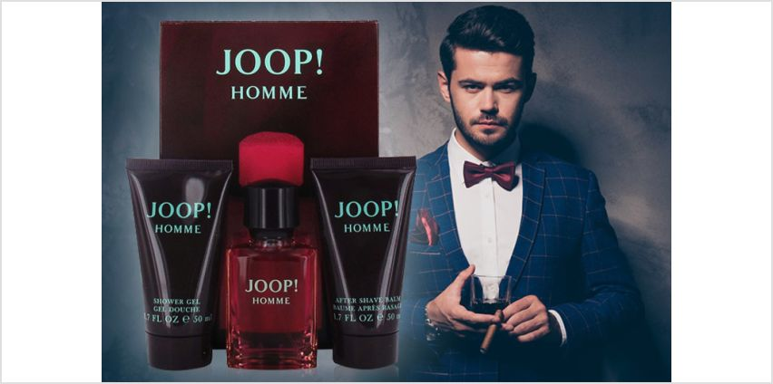 From £21.99 instead of £39.99 (from Jynx Direct) for a Joop Homme gift set for him - choose from two options and save up to 45% from Wowcher