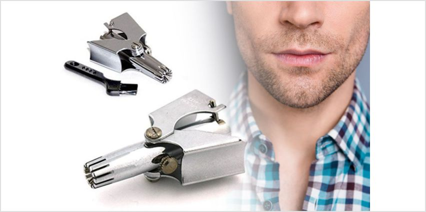 £9.99 instead of £48 (from Forever Cosmetics) for a silver hawk ear and nose hair trimmer - save 79% from Wowcher