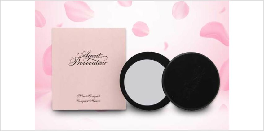 £6.99 instead of £10.65 (from Deals Direct) for an Agent Provocateur compact mirror in pouch - save 34% from Wowcher