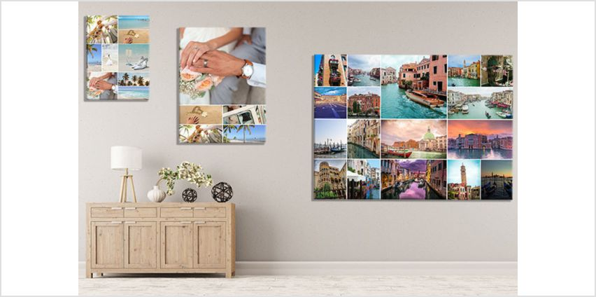 From £4.95 instead of £57 (from Discount Photo Prints) for a portrait or lanscape collage canvas - choose from 5 sizes & save up to 91% from Wowcher