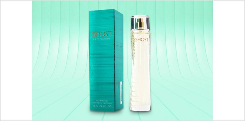 £17.99 for a 75ml bottle of Ghost Captivating eau de toilette from Deals Direct from Wowcher