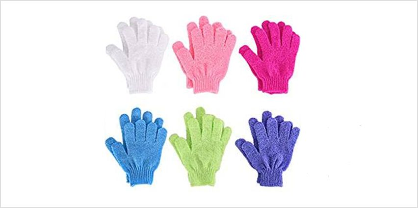 £2.99 instead of £4.99 for a pair of exfoliating gloves from Ram Online LTD - save 40% from Wowcher