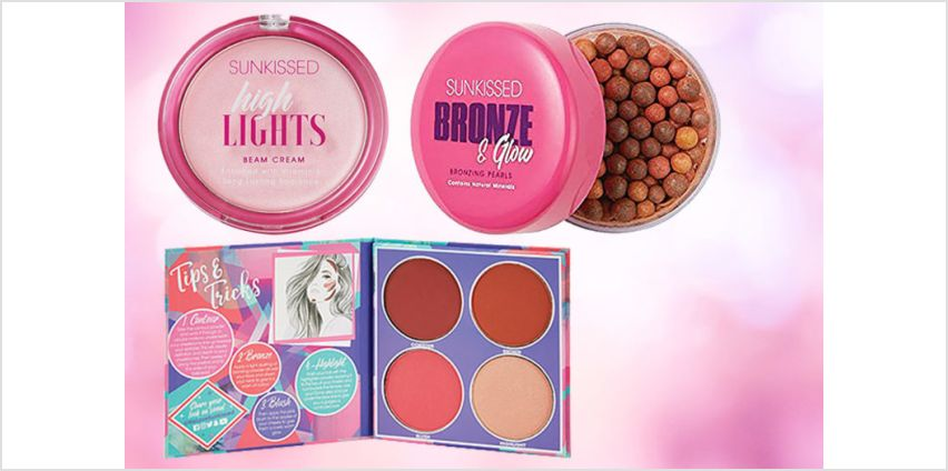 £7.99 instead of £13.20 for a Sunkissed makeup bundle (from Deals Direct) - save 39% from Wowcher