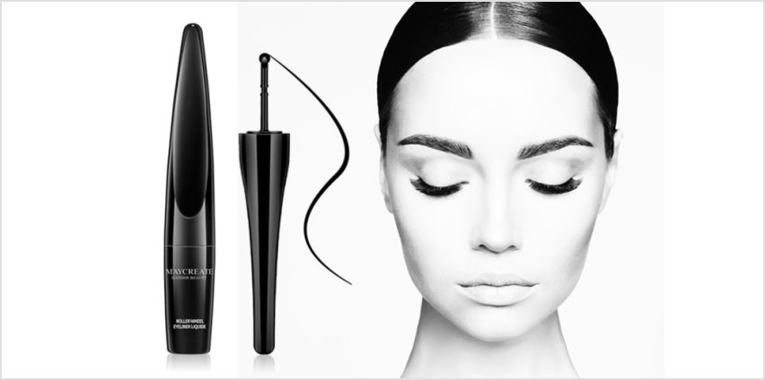£4.99 instead of £29.98 (from Forever Cosmetics) for two black roller wheel liquid eyeliners - save 83% from Wowcher