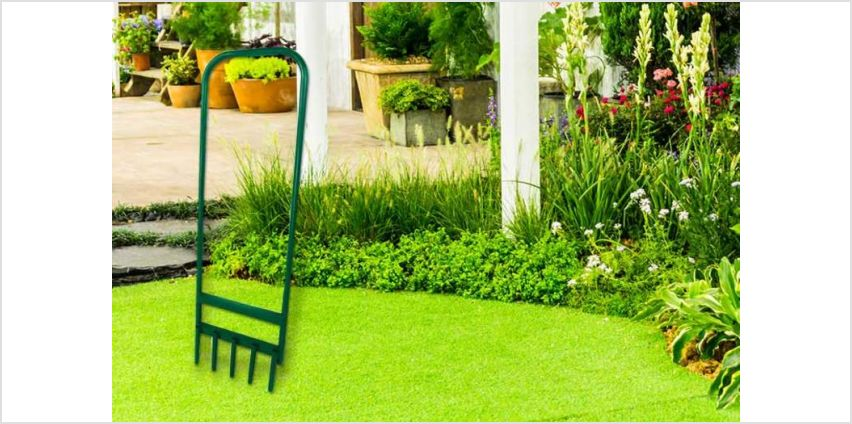 £11.99 instead of £39.97 for a hollow 5 prong garden aerator from Who Needs Shops Ltd - save 70% from Wowcher