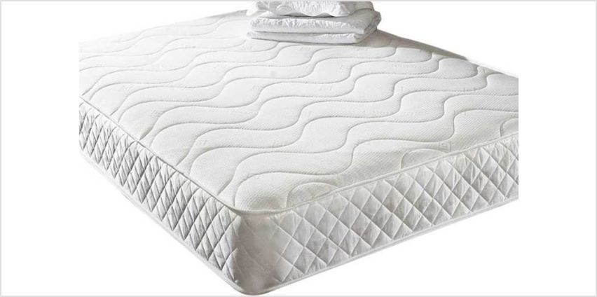 From £49 instead of £280 (from That Mattress) for a quilted memory foam mattress - save up to 82% from Wowcher