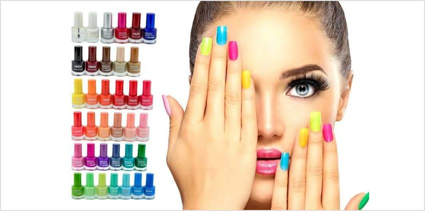 £19 instead of £79.99 for 36 high maintenance nail polishes from Forever Cosmetics - save 76% from Wowcher