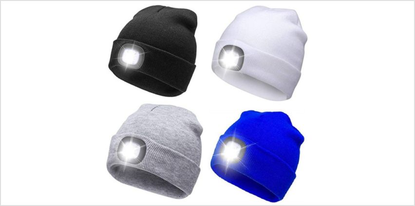 £4.99 instead of £19.99 for an LED headlamp beanie from ViVo Technologies - save 75% from Wowcher