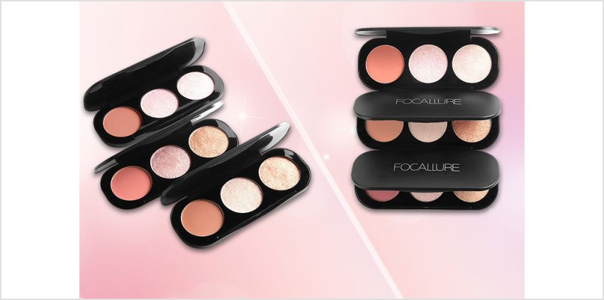£4.99 instead of £8 (from Forever Cosmetics) for a Focallure ultra-glow highlighting finishing powder –save 38% from Wowcher