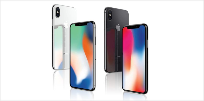 £549 instead of £899 (from Renew Electronics) for a refurbished 64GB iPhone X, or £649 for a 256GB iPhone - choose from two colours from Wowcher
