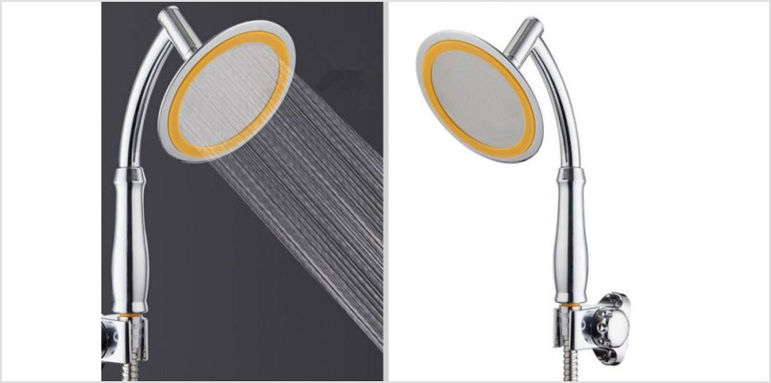 £7 instead of £40.99 (from Wow What Who) for a 15cm booster shower head - save 83% from Wowcher