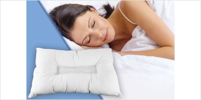 £6.99 instead of £39.99 for an anti-snore pillow, or £12.99 instead of £79.98 for two anti-snore pillows - save up to 83% from Wowcher